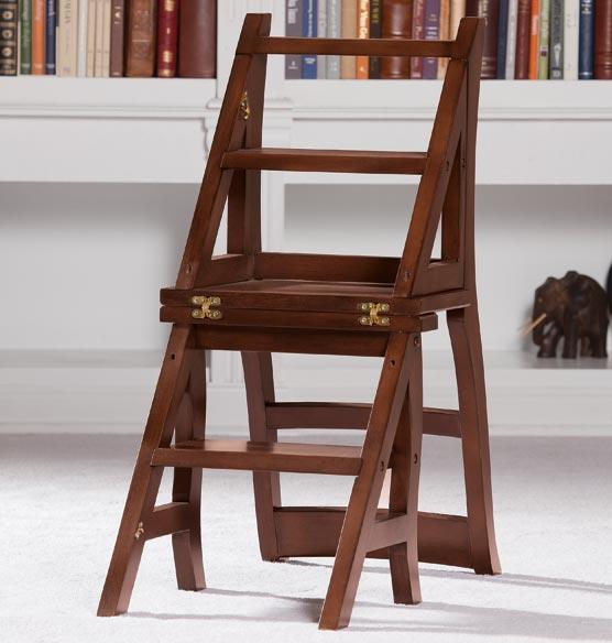 Library Ladder Chair Ladder Chair Step Ladder Chair